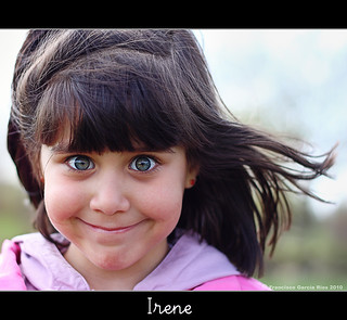 Irene, sonrisa al viento. / Irene, Smiles with the Wind.