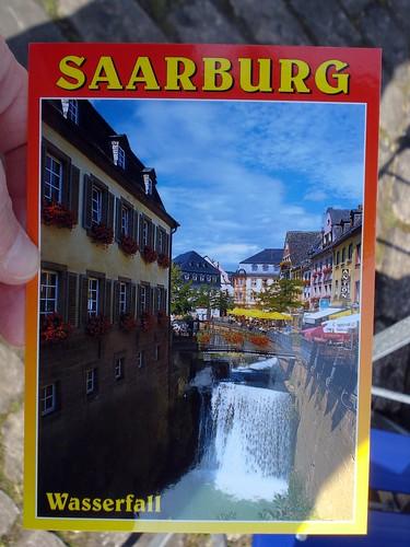 Saarburg Postcard
