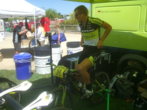 Sea Otter xc warm-up