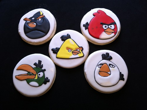 Bodhi's Angry Bird Cookies