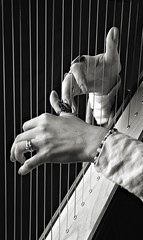 spider hands (gmeilers) Tags: blackandwhite hands harp bigmomma thechallengegame challengegamewinner herowinner ultraherowinner storybookwinner