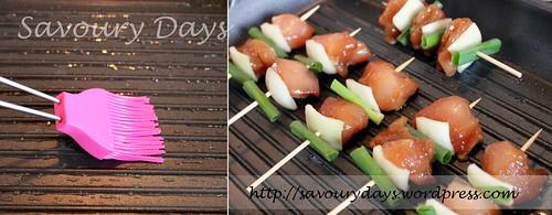 Gà xiên nướng kiểu Nhật  3