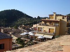 Blick vom Hotel Maristel in Escellencs