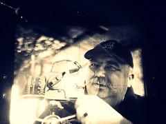Playing with Hasselblad (caparobertsan) Tags: la cafe 120format hasselblad sundaymorning 120mm lahat gitzotripod prismfinder 120filmformat 80mmplanarlens carbontripod