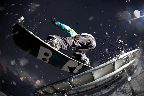 2009 Rider: Yorgo Razis Lugar: Snowpark Valle Nevado, Chile.