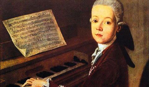 Crianças-prodígio Wolfgang Amadeus Mozart