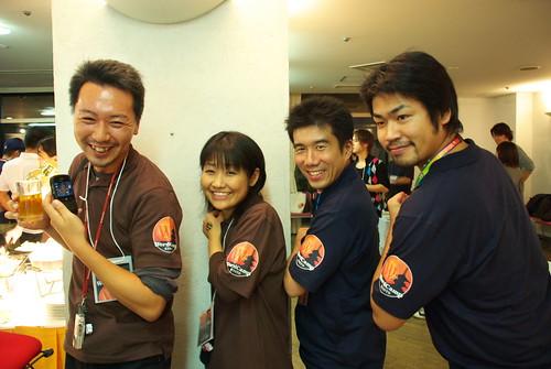 をかもとさん、Nao さん、yorozu さん、Webnist さん