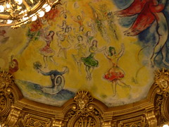 Chagall à Garnier (chtiroux) Tags: paris chagall opéragarnier gisèle lelacdescygnes