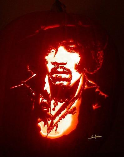 calabaza de Jimi Hendrix