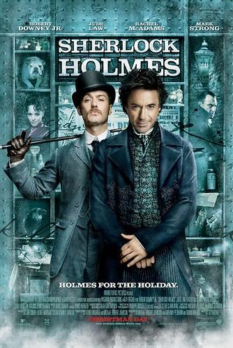 sherlock holmes robert downey jr jude law, movie review