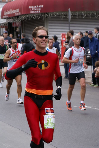 New York City Marathon 2009 Señor Increíble
