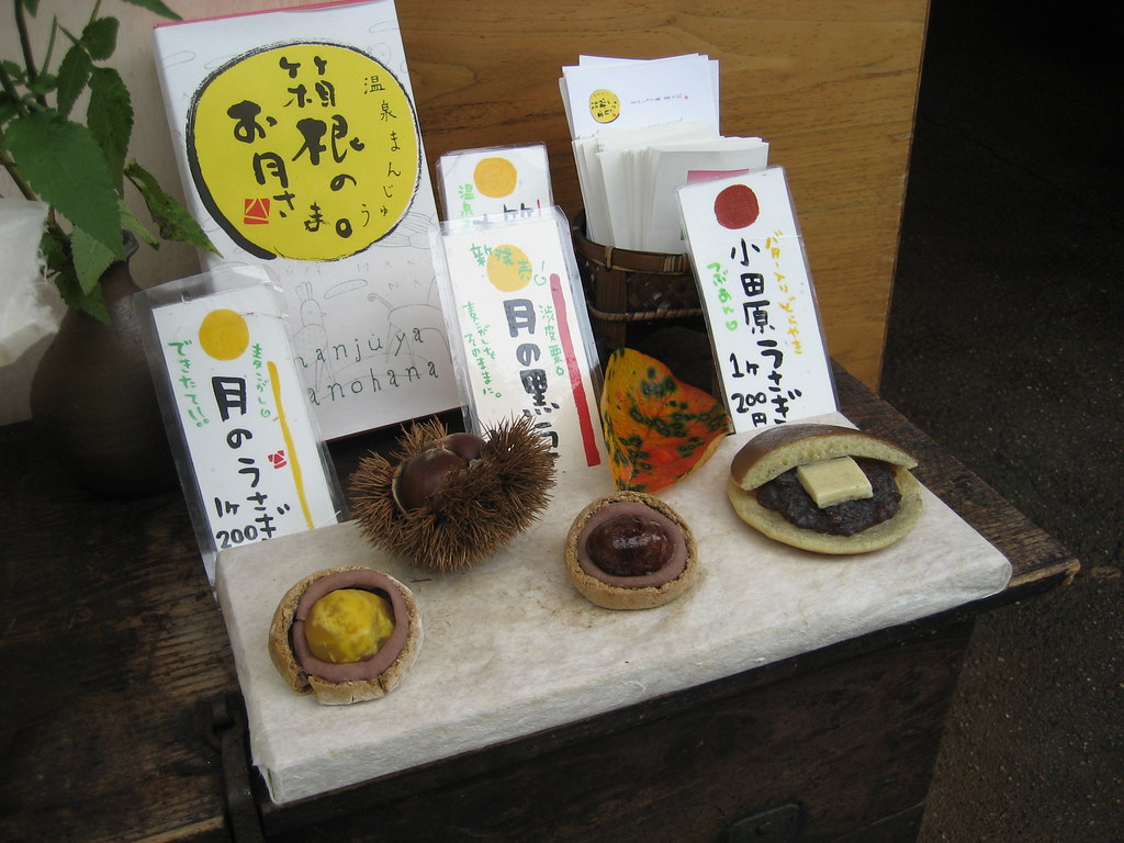 Japanese chestnut delicacies 8439
