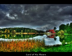 Glck - BOLU (LORD OF THE FLOWERS) Tags: cloud house lake reflection green forest mine 1855mm reflexions hdr bolu glck xxxxxxxx zcan canonrebelxti 100commentgroup