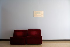 sofa and map