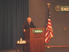 Former NNSA Administrator Linton F. Brooks delivers remarks (NNSANews) Tags: departmentofenergy y12 nuclearsecurity nnsa thomasdagostino lintonbrooks