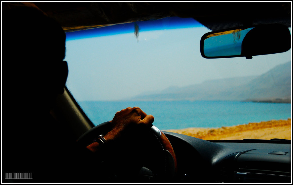 Driving the coast