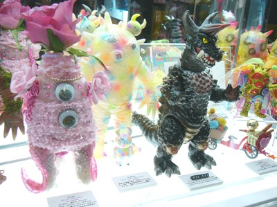Max Toy Show at Kaiju Blue