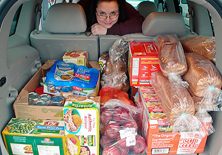 Donations for West Seattle Food Bank