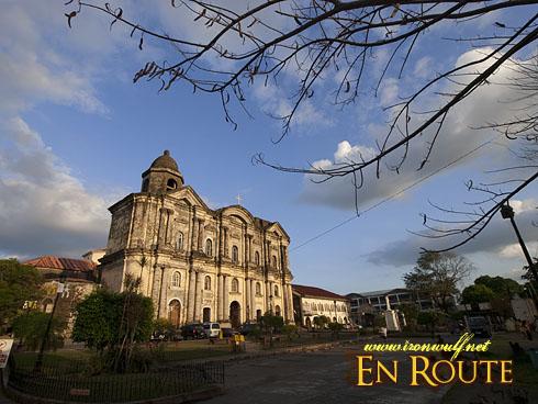 Taal Basilica of Saint Martin Sunset Glow
