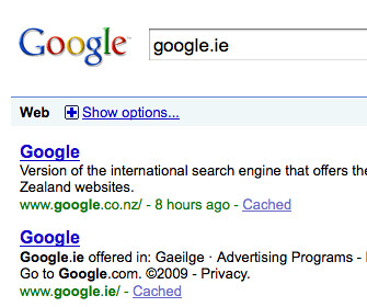 Google Ireland as New Zealand?