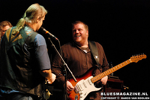 Walter Trout and Danny Bryant