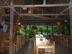 The dinning area at El Retiro Lodge.