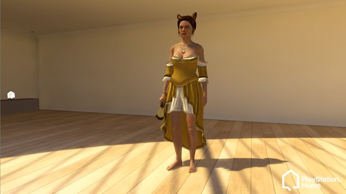 PlayStation Home: Female_Courtesan