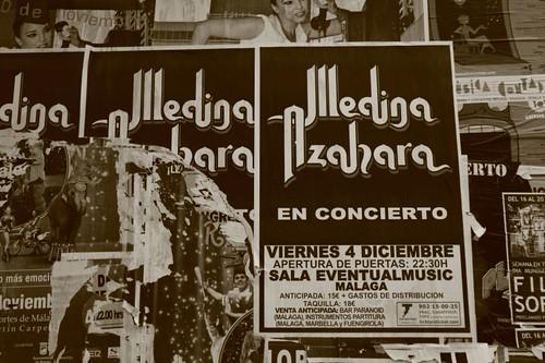 Málaga posters...