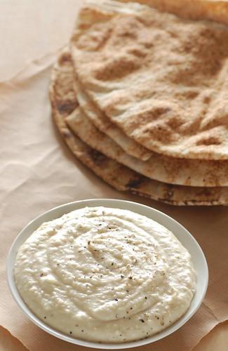 parmesan & white bean dip