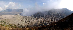 MT BROMO (Claude  BARUTEL) Tags: panorama mountain indonesia volcano java smoke panoramic bromo active