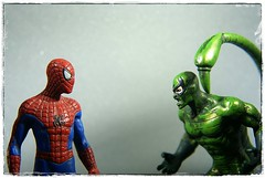 spiderman vs. scorpion