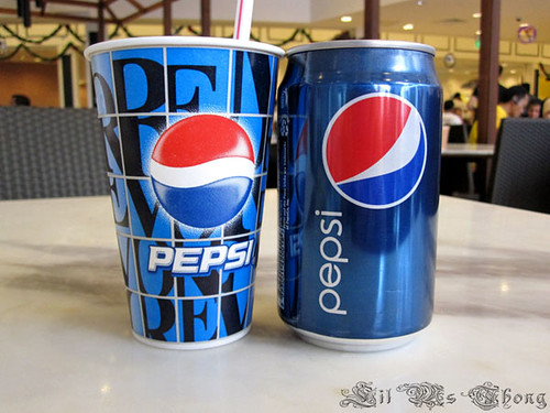 Always~ Coka... eh... no no... er... Pepsi~ Ask for moreeee~