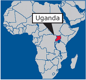 africa-uganda-map