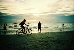 cloudy sunset at beach (darkcanopy) Tags: sunset vacation film beach bike bicycle analog lomo lca xpro lomography crossprocessed phil cloudy lka crossprocess philippines lofi slide lomolca photograph 1984 analogue boracay agfa ph russian cyrillic vignetting agfaprecisa vignette  analogphotography lomograph 84 lowfi compactcamera  russiancamera filmphotography xprod agfactprecisa100 omo agfactprecisa lomolove analoguephotography cyrilliclettering ka omoka russiancam