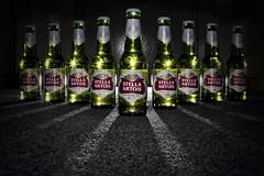 Cheers to 2009! (edmundlwk) Tags: lighting cactus green beer bottles drink explore alcohol cheers stellaartois frontpage happynewyear 2010 speedlite 430ex triggers v4s strobist vivitar285hv canon450d rebelxsi edmundlim
