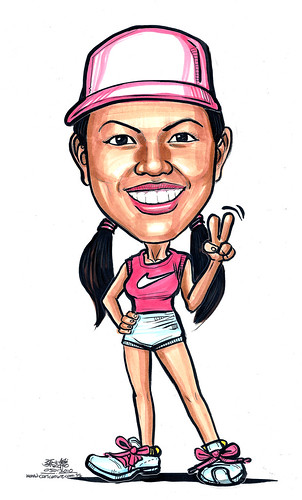 Caricature for Facebook profile A4