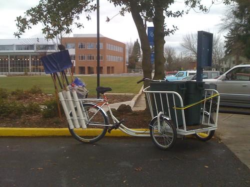 landscaping trike
