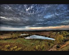 Artex Ceiling (Bs0u10e0) Tags: uk sunset england water pool landscape nikon view britain sigma wideangle vista 1020mm staffordshire quarry hdr sigma1020mm photomatix hopwas d80 nikond80 weeford lichfielddistrict sandandgravelquarry canwellhall