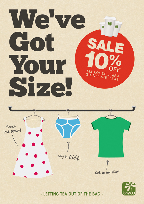 We've Got Your Size