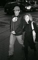 aliem (teh hack) Tags: street bridge people bw film mike analog canon person photography photo edmonton candid flash trix rangefinder nb ave alberta 400 ilford strobe whyte ddx a35f