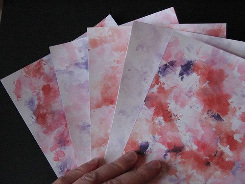 Watercolor Paper Towels 011