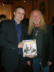 Gregg Allman and I (tim-johnson) Tags: releaseparty timjohnson greggallman southmagazine