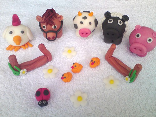 animals cake topper
