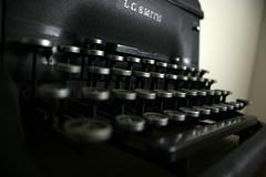 Typewriter angle