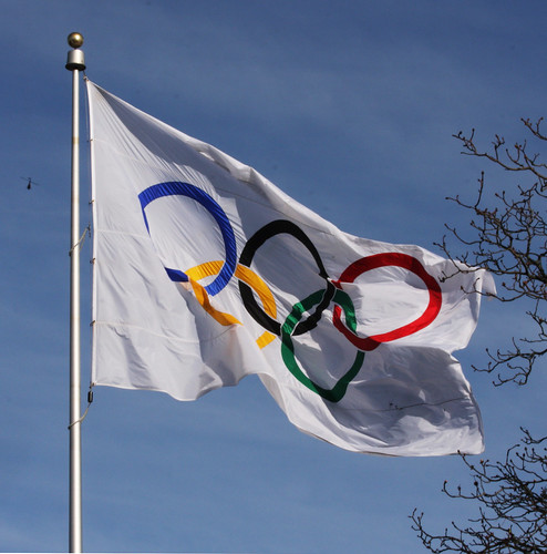 The Flag at City Hall