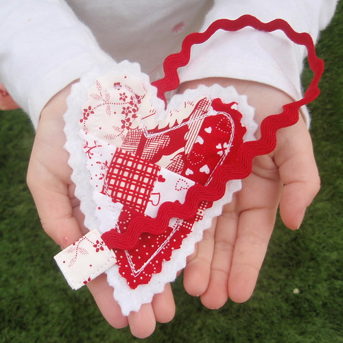 Wonky Heart Bookmark