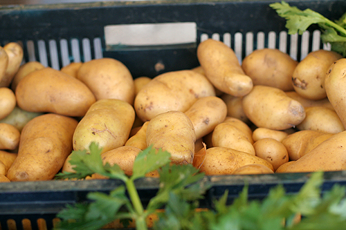 French market potatoes