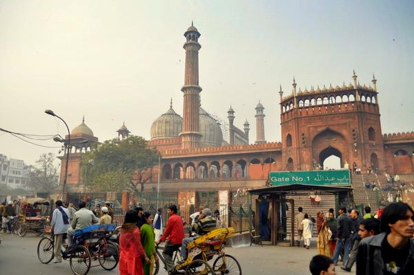 Jama Masjid, Delhi. India