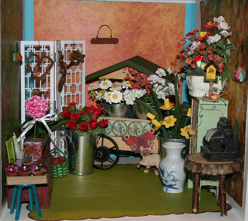 Flower shop in the Expedit