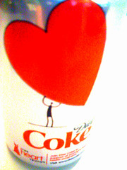 42:365 (Culinary Fool) Tags: red silver heart coke can dietcoke soda day42 valentinesday heartdisease iphone culinaryfool 42365 day042 yiip 2010yiip bestcameralightcandy